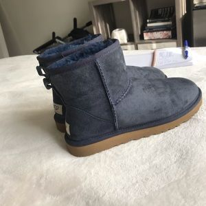 UGG navy blue boots size 7